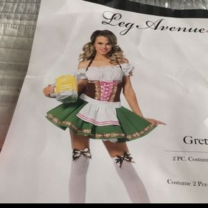 Gretchen Beer girl costume or st paddy's day outfi